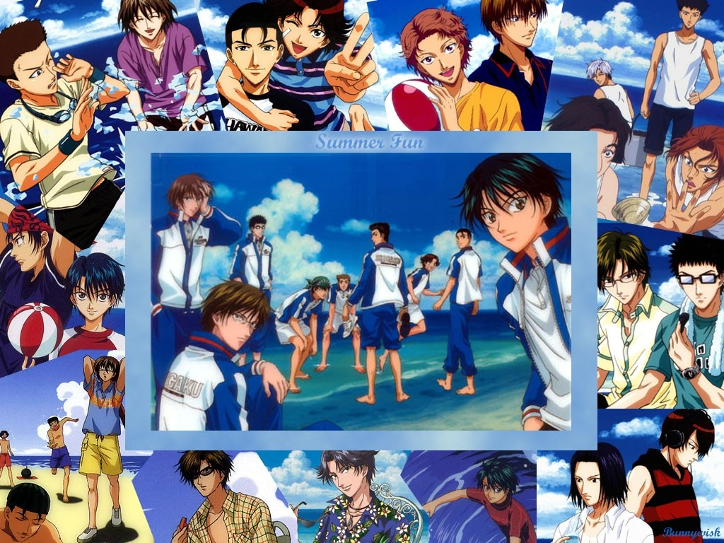 Prince of tennis hyotei characters