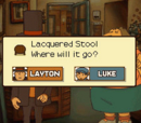 Lacqured Stool