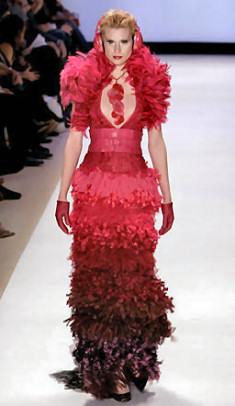 Jay finale red dress