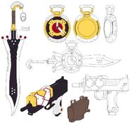 3 Sheath-Weapons