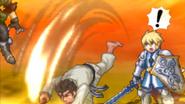 Segata Sanshiro Helping Yuri & Flynn (Project X Zone 2)
