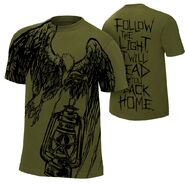 Bray Wyatt Follow The Light Authentic T-Shirt