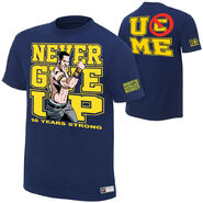 John Cena 10 Years Strong Authentic T-Shirt
