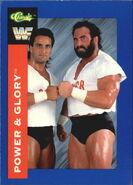 1991 WWF Classic Superstars Cards Power & Glory 82