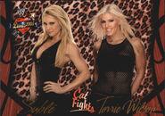 2004 WWE Divas 2005 (Fleer) Sable & Torrie Wilson 64