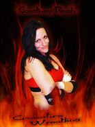 Courtney Rush - Crossfire Wrestling