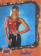 2002 WWE Absolute Divas (Fleer) Jackie 5