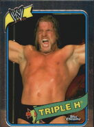 2008 WWE Heritage III Chrome Trading Cards Triple H 28
