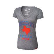 WrestleMania 32 Texas Women's V-Neck T-Shirt