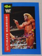 1991 WWF Classic Superstars Cards Ultimate Warrior 70
