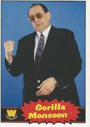 2012 WWE Heritage Trading Cards Gorilla Monsoon 75