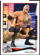 2014 WWE (Topps) The Rock 40