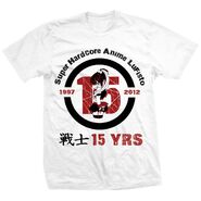 Lufisto 15th Anniversary T-shirt Light Shirt