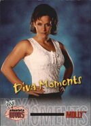 2002 WWE Absolute Divas (Fleer) Molly 79