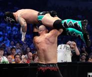 Kane vs Punk