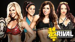 Takerover 4 Divas 4 Way Match