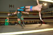 Joey V. in-ring action - 1