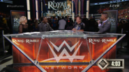 Renee Young, Booker T, Jerry Lawler & Corey Graves - Royal Rumble 2015 panelist team