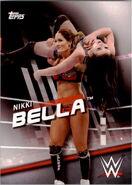 2016 WWE Divas Revolution Wrestling (Topps) Nikki Bella 30
