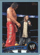 2011 WWE (Topps) Ranjin Singh 16
