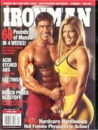 Ironman Magazine - April 2001
