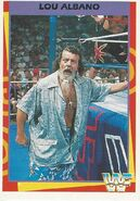 1995 WWF Wrestling Trading Cards (Merlin) Lou Albano 38
