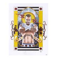 CM Punk Second City Saint Signed Lithograph