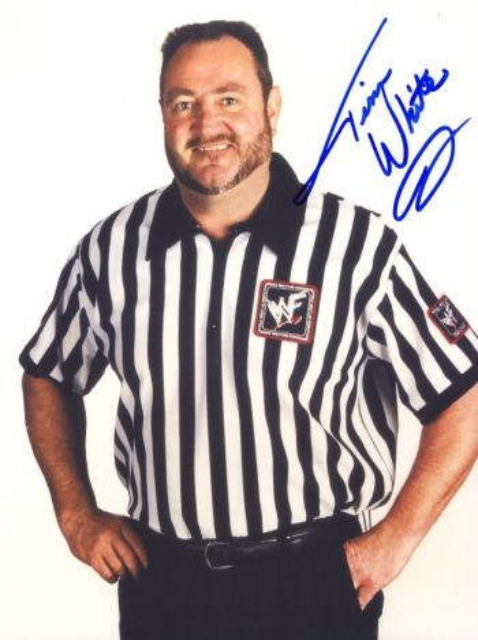 Tim White WWE Referee Injured
