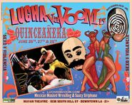 Lucha VaVoom Poster 15