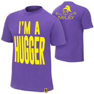Bayley I'm A Hugger Youth Authentic T-Shirt