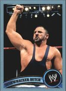 2011 WWE (Topps) Bushwhacker Butch 101