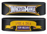WrestleMania 30 Rubber Bracelet