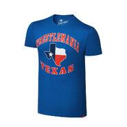 WrestleMania 32 Texas Blue T-Shirt