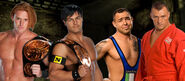 Justin Gabriel & Heath Slater vs. Santino Marella & Vladimir Kozlov