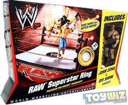 WWE Wrestling Ring RAW Superstar Ring