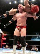 Joe Doering in-ring action