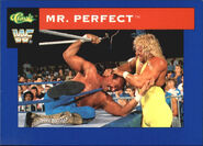 1991 WWF Classic Superstars Cards Mr. Perfect 63