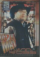 2002 WWF All Access (Fleer) Jim Ross 76