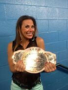 Micke James TNA Knockout champion