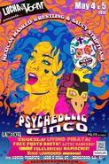 Lucha VaVoom Cinco De Mayo 2015 Poster