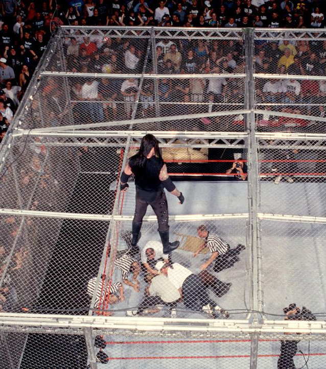 King Of The Ring  Undertaker Mankind