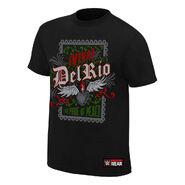 Alberto Del Rio El Clasico Authentic T-Shirt