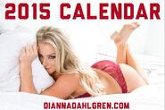 Dianna Dahlgren 2015 Calendar