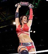 Layla WWE Divas Championship