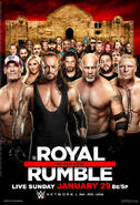 Royal Rumble 2017 poster