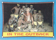1987 WWF Wrestling Cards (Topps) In The Outback 25