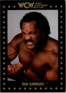 1991 WCW Collectible Trading Cards (Championship Marketing) Ron Simmons 70