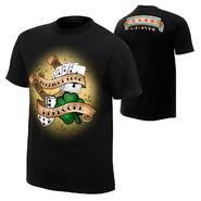 CM Punk Straight Edge Retro T-Shirt