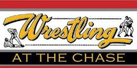 Wrestling at the Chase logo