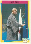 1995 WWF Wrestling Trading Cards (Merlin) Mr. Fuji 106